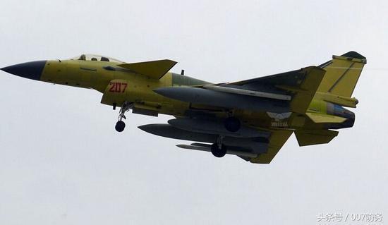 歼-10C战斗机携带的光棍导弹