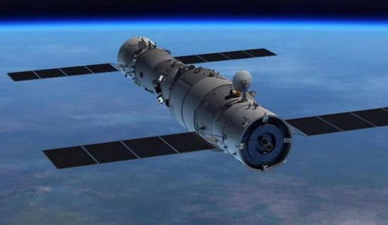 中国空间站天宫2号,也处于印度太空垃圾的威胁下飞行