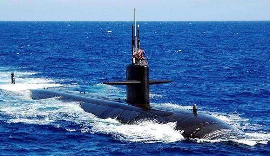 或者洛杉矶级攻击核潜艇中期水平