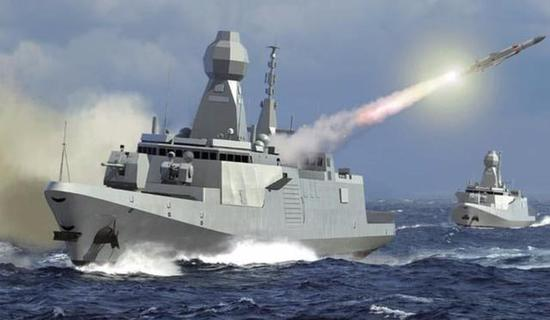 舰载武器和垂发体系
