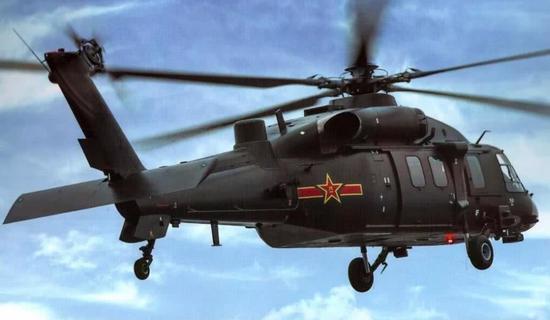 中国陆军最猛增长的装备,就是直升机