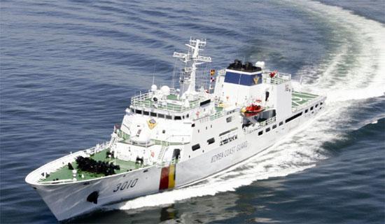 韩国海警 资料图