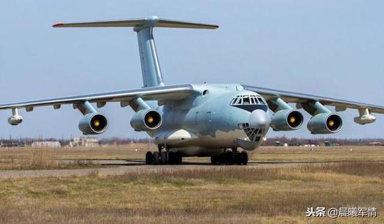 吾国从乌克兰进口的二手伊尔78