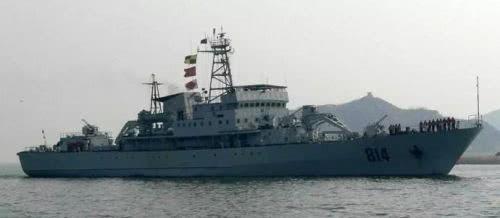 ▲当然,说起来都是布雷,但918型布雷舰主要的任务是防御型布雷