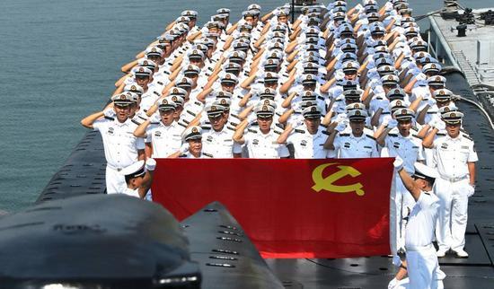 中国海军官兵
