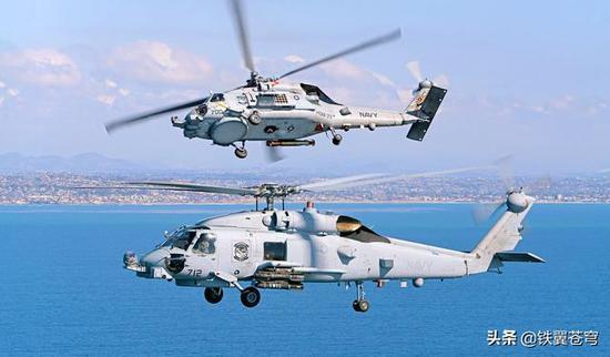 印度购美反潜直升机单价超1亿美元 够买20架中国直9