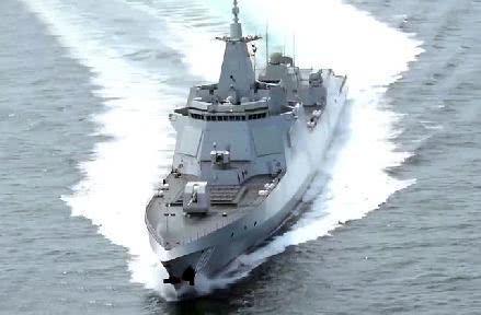 迅捷威猛是055舰的代名词
