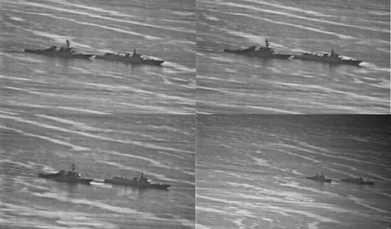 中国军舰已做好撞击美舰准备 留给美军时间不到10秒