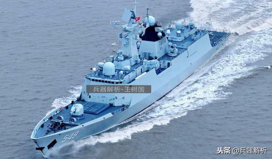 (中国054A护卫舰)