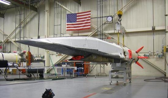 美国的X-51A拙劣音速飞走器
