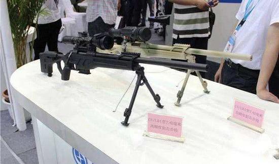 CS/LR4是国产第一种高精度狙击步枪