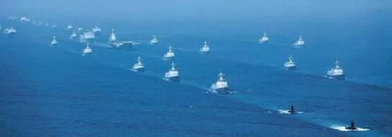 最好的守卫仍然是海军舰艇编队