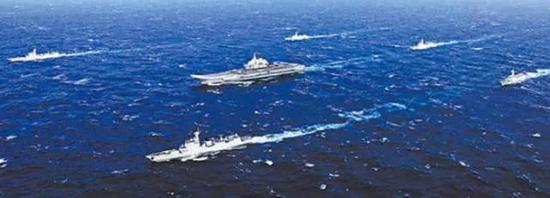 中国航母编队的主力阵容