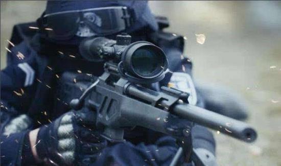 CS/LR4提高我军和警方远距离狙击能力
