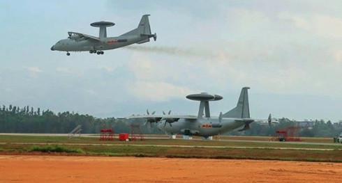 空警500已经批量装备,执行日常战备训练任务