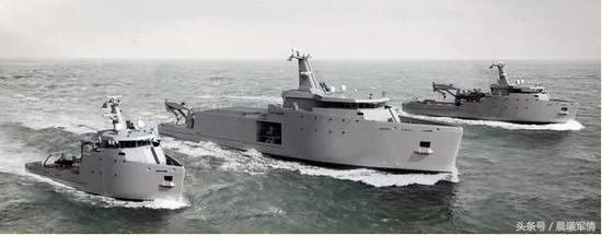 美国计划建造CHAMP多功能运输船