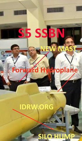印度要造新核潜艇超越中国094 却还只是个木头模型