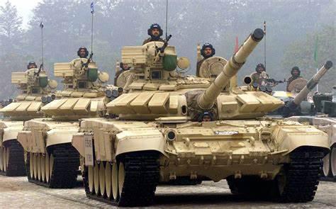 印军装备的T-90主战坦克