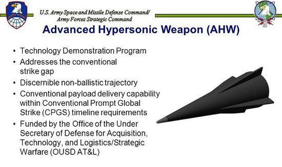 美国新一代中程导弹能够采用AHW的拙劣声战斗部
