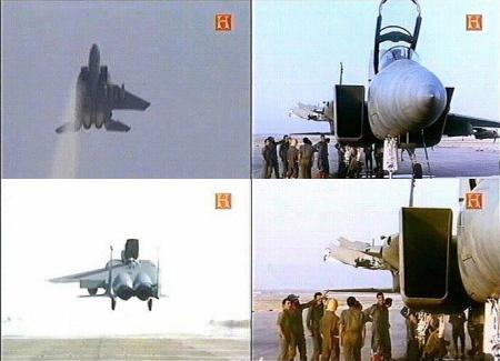 1983年,一架以军F-15战机飞行时与友机相撞,失去整个右翼,依然成功迫降