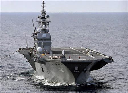 """日本""""出云""""级直升机护卫舰"""