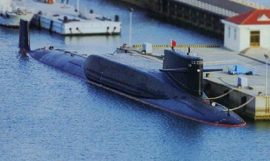 ▲094型战略导弹核潜艇