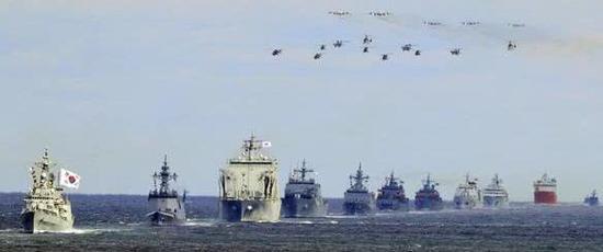 韩国国际阅舰式 图日本产经消休