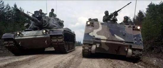 美军的坦克部队