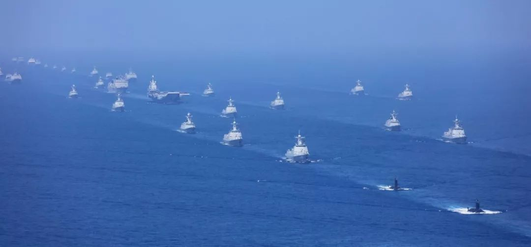 走向深蓝的中国海军