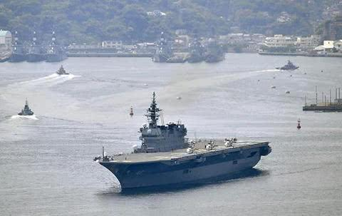 """原料图:""""出云""""号直升机护卫舰(图源:视觉中国)"""
