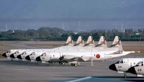 ▲自卫队的P-3C数量很多,在中国近海的巡逻密度相当高