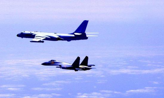台军汉光推演开幕 解放军舰机持续进台西南海空域