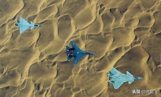 中国空军采用三四代机同化战术
