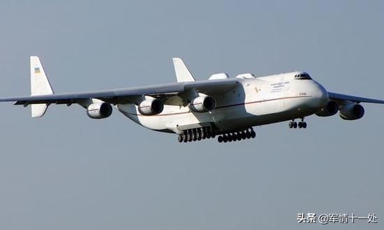 图注:安-225运输机