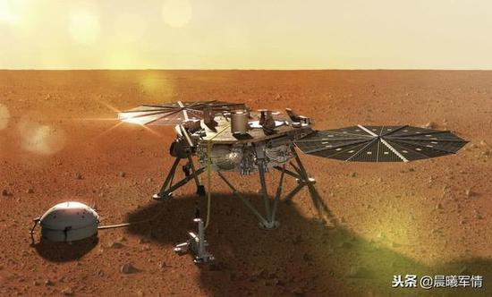 美国成功发射洞察号火星探测器