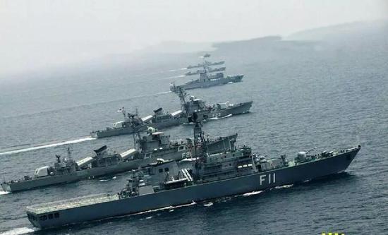 """16艘中国退役军舰在南亚热卖 已将印度""""包围""""(图)"""