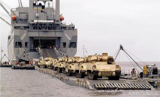 美军现在的海运能力已经不克已足必要
