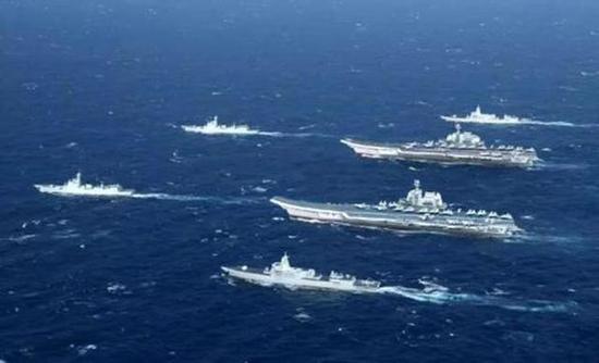 海军节望到双航母编队,中国有信念