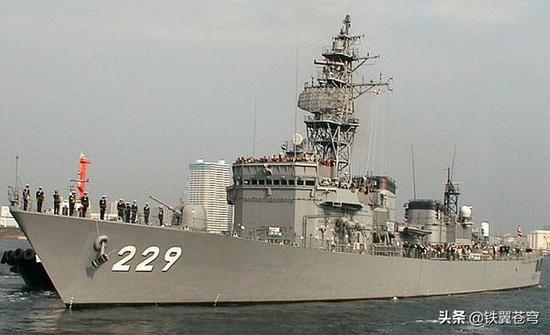 这才是日本真正的护卫舰