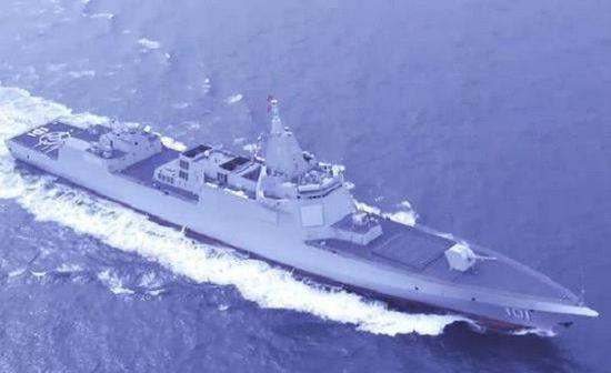 9个月6艘 中国今年盾舰下水吨位已超英军所有驱逐舰