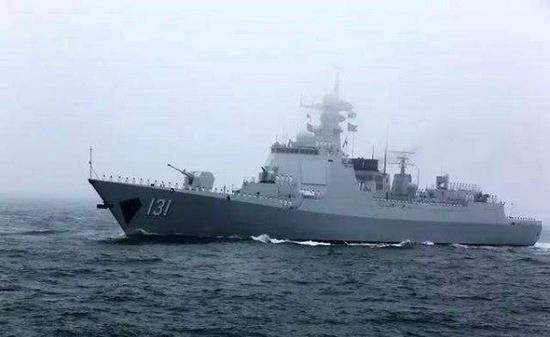 131太原舰来自东海舰队