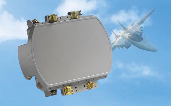 这就是以色列人的ELM-2052有源相控阵雷达