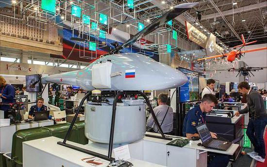 俄无人直升机