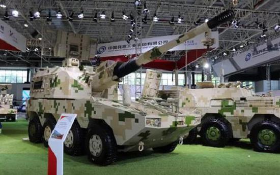 SH11型轮式155毫米自走添榴炮在国际市场有较益的前景