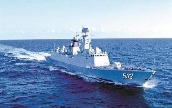 荆州舰来自东海舰队