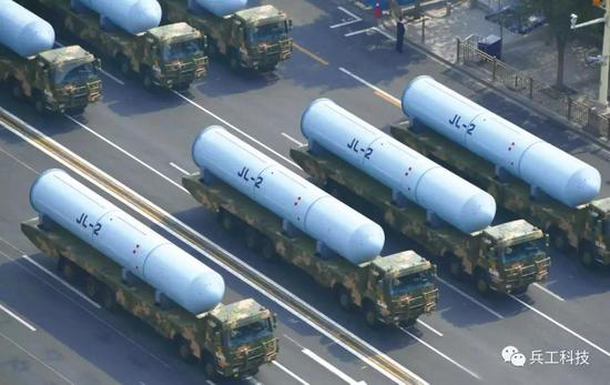 中國正測試巨浪3導彈:射程超巨浪2型50% 威力翻倍
