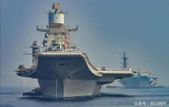 图为印度航母(来源:飞扬军事)