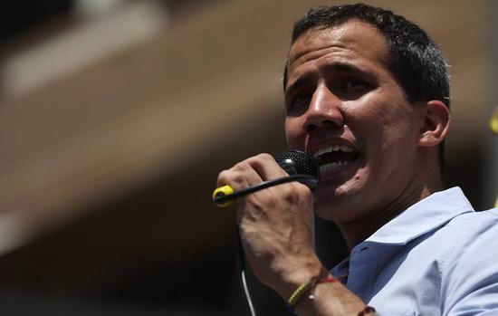 委内瑞拉反对派领导人胡安·瓜伊多