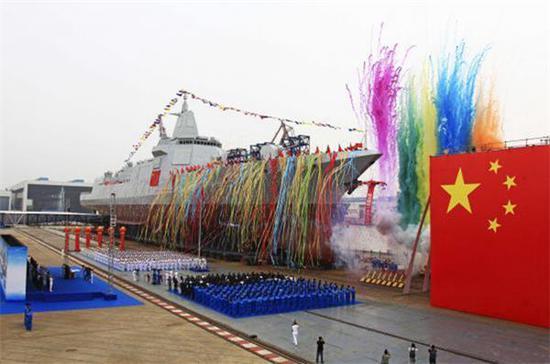护航舰也在建造中