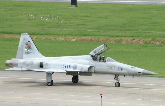 资料图:台军F-5E战斗机